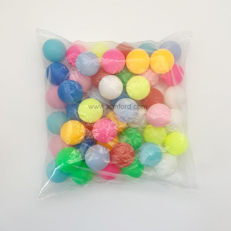 Colorful Ping Pong Balls